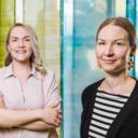 Mari Räsänen ja Minna Siiriäinen